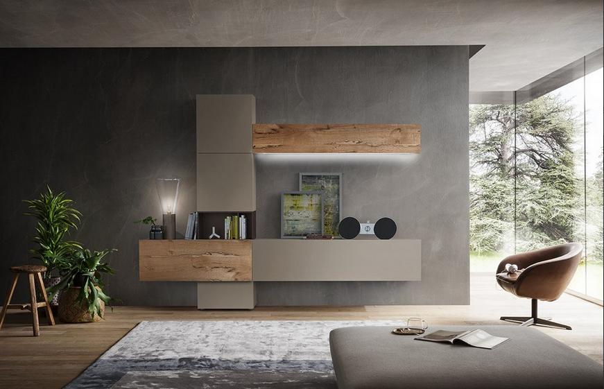 Come arredare casa e suddividere l'ambiente con una parete attrezzata?